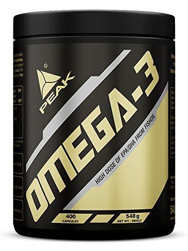 PEAK Omega 3 - 400 Kapseln - 180mg EPA - 120mg DHA