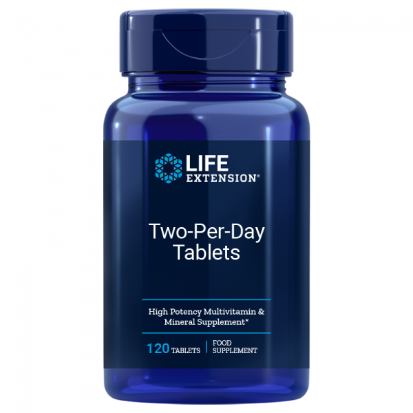 Life Extension - Two per Day Tablets - 120 vegetarische Tabletten