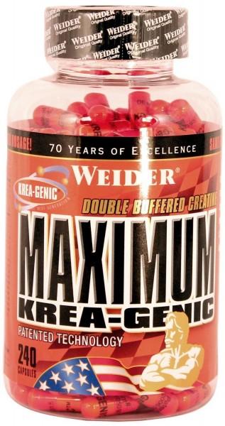 Weider - Maximum Krea-Genic 240 Kapseln