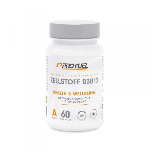 PROFUEL Zellstoff D3 und B12 Depot