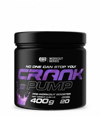 ESN Crank Pump 400g - Pre Workout Pump Booster