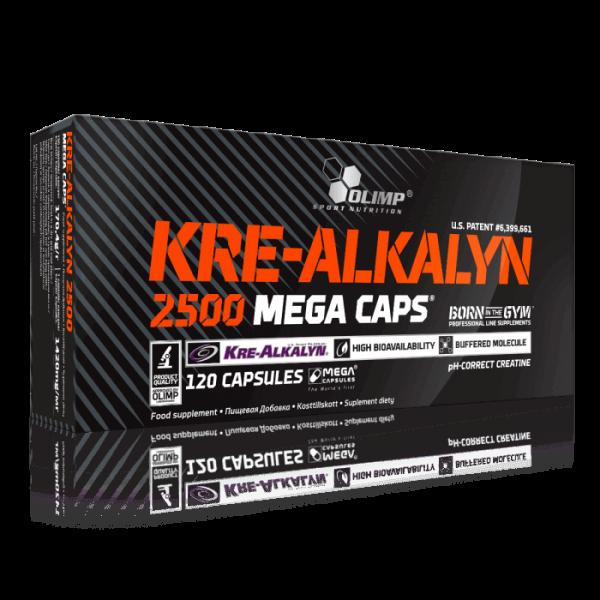 Olimp Kre-Alkalyn 2500 Mega Caps - 4400mg - Kreatin - 120 Kapseln