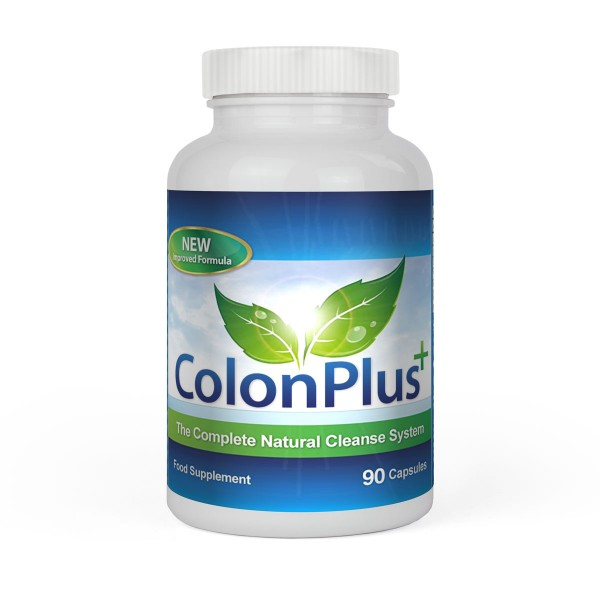 Colon Plus 90 Kapseln - Colon Cleansing System - Darmreinigung