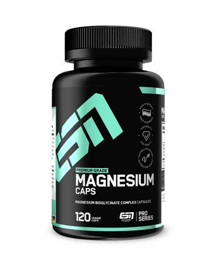 ESN Magnesium Caps 120 Kapseln - 300mg reines Magnesium pro Tagesportion
