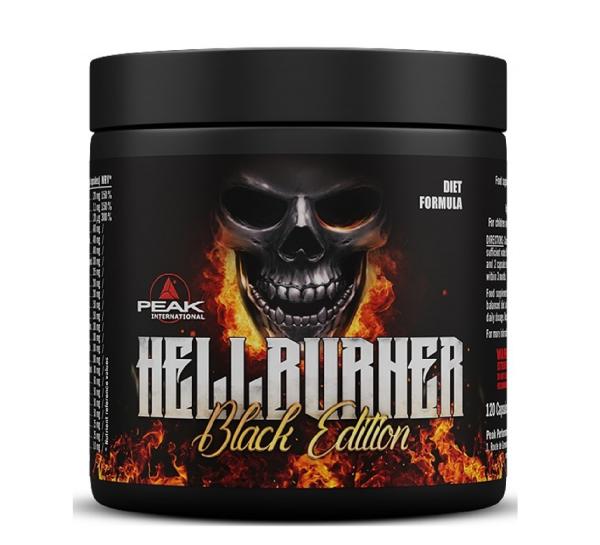 Peak Hellburner Black Edition 120 Kapseln - Fatburner