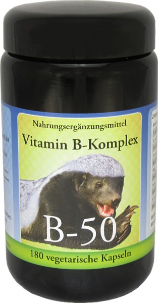 Robert Franz Vitamin B 50 Komplex 180 vegane Kapseln