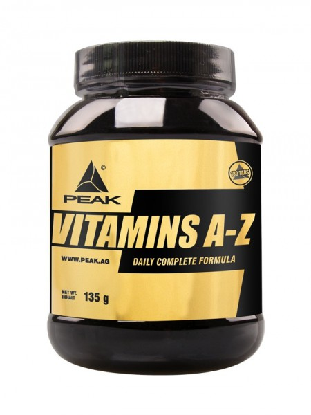 PEAK Vitamins A-Z Dose mit 180 Tabletten