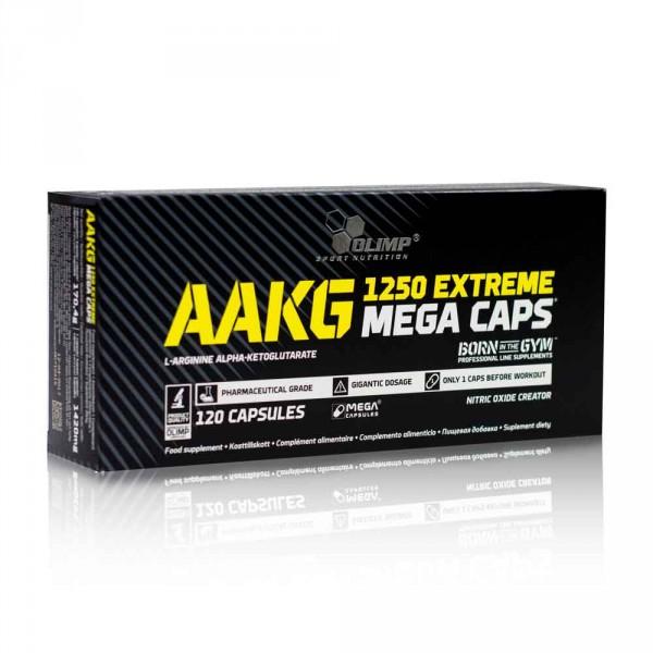 Olimp AAKG Mega Caps 120 Kapseln - Aminosäuren