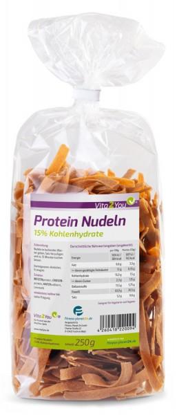 Vita2You Protein Nudeln 250g - Neue Rezeptur - 61% Eiweiss - Nur 15% Kohlenhydrate