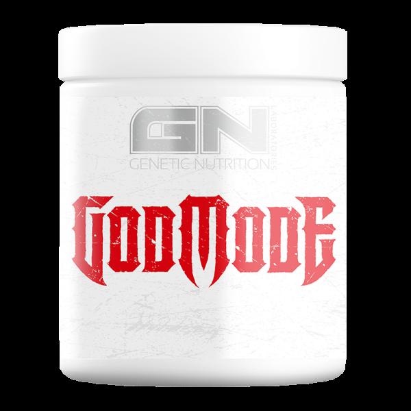 GN Laboratories Godmode 350g - Booster - Mega Trainingsbooster mit Koffein für Power und Pump