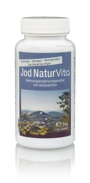 Cellavita Jod Natur Vita - 4-Monats-Vorrat - 120 Kapseln