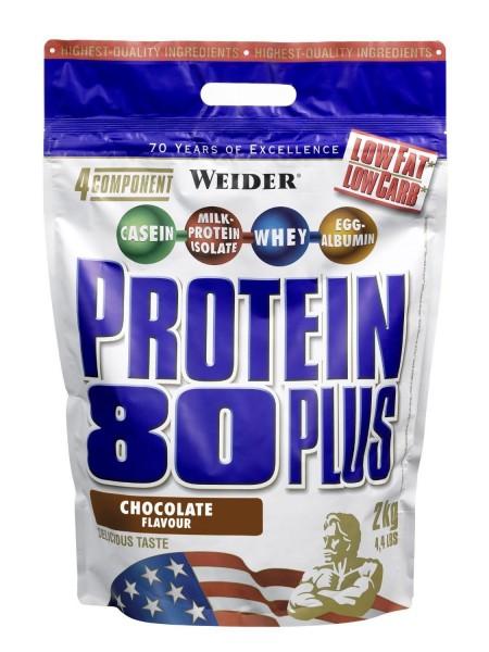 Weider - Protein 80 Plus - 500g - 4 Komponenten Eiweiß - Casein / Whey