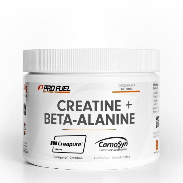 PROFUEL Fundament 300g Dose CREATINE + BETA-ALANINE | Creapure® & CarnoSyn® - Creatin - Aminosäuren