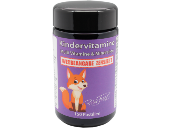 Robert Franz Kindervitamine - Multi Vitamine & Mineralien - 150 Pastillen