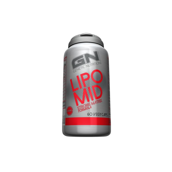 GN Laboratories Lipomid - 60 Kapseln - Extrem Fatburner