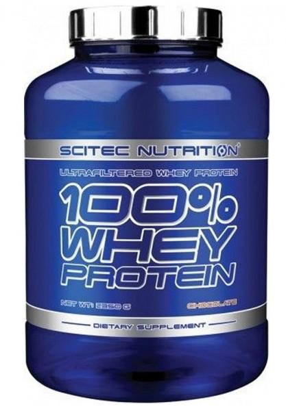 Scitec Nutrition - 100% Whey Protein 2350g Eiweiß (blaue Dose)
