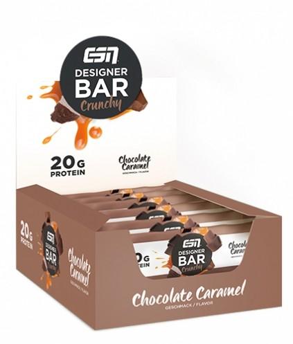 ESN Designer Bar Crunchy Box 12 Riegel - 720g Protein-Riegel
