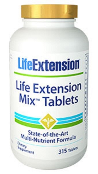 Life Extension mix tablets - 315 Tabletten
