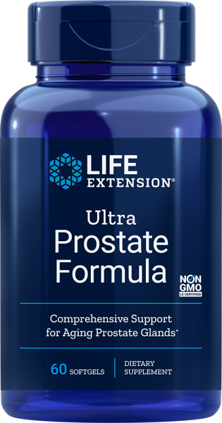 Life Extension Ultra Prostate Formula 60 Softgel Kapseln