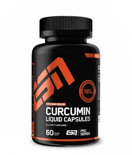 ESN Curcumin flüssig Kapseln - 60 Softgels - Kurkuma - 185-fach optimalere Resorption