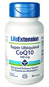 Life Extension Super Ubiquinol CoQ10 - 100mg - 60 Kapseln