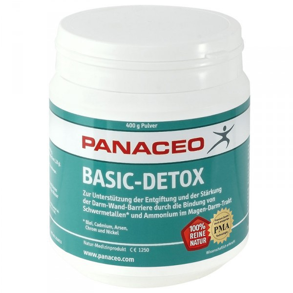 Panaceo Basic-Detox Zeolith Pulver 400g