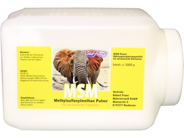 Robert Franz MSM Pulver 1kg - Methylsulfonylmethan