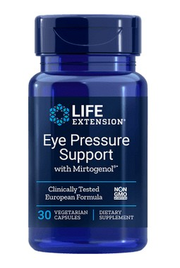 Life Extension - Eye Pressure Support with Mirtogenol® - 30 Kapseln
