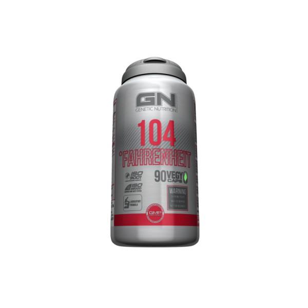 GN Laboratories 104 Fahrenheit - 90 Kapseln - Extrem Fatburner