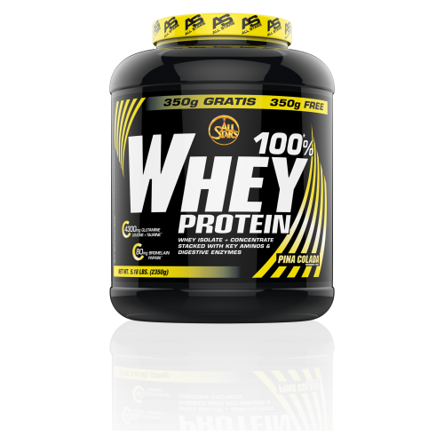 All Stars 100% Whey Protein 2350g Dose Eiweiss