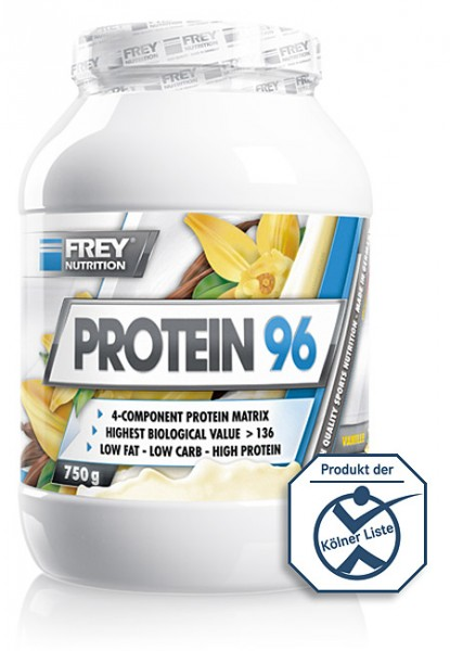 Frey Nutrition Protein 96 - 750g Dose Eiweiß 4 Komponenten