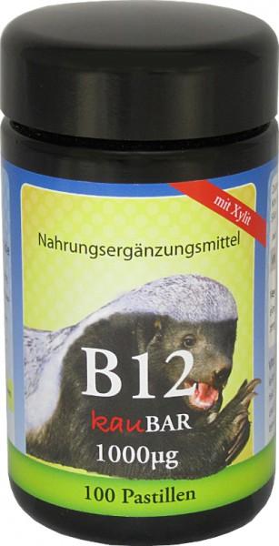 Robert Franz Vitamin B12 - 1000μg - 100 Pastillen - Lutschtabletten