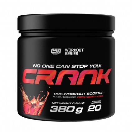 ESN Crank 380g - Pre Workout Booster