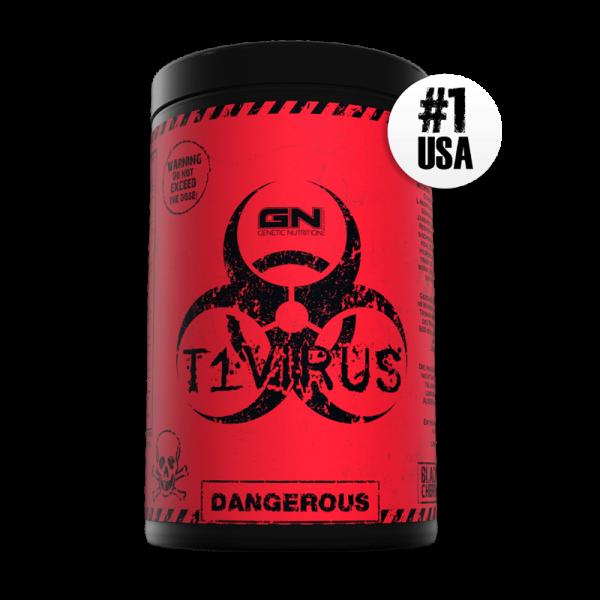 GN Laboratories T1 Virus 500g - Pre-Workout-Booster - Mega Trainingsbooster