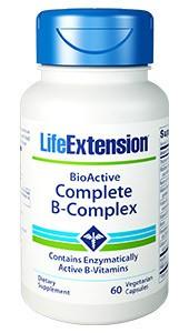 Life Extension Bioaktiver B-Komplex 60 Kapseln