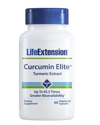 Life Extension Curcumin Elite - Turmeric Extract - 60 Kapseln