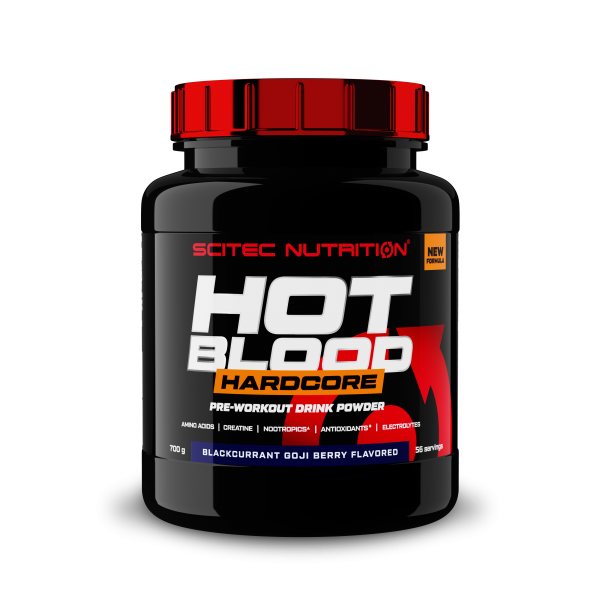 Scitec Nutrition - Hot Blood Hardcore - 700g - Pre-Workout Booster