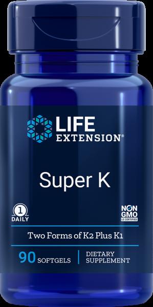 Life Extension Super K - 90 softgels