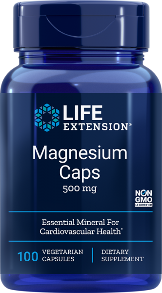Life Extension - Magnesium Caps 500mg 100 Kapseln - Mineralien & Vitamine