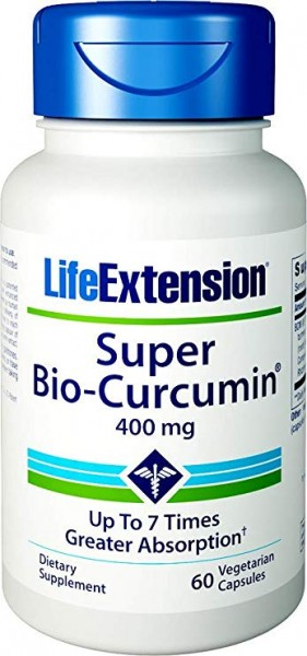 Life Extension Super Bio Curcumin 400mg - 60 Kapseln