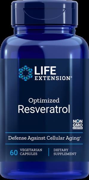 Life Extension Optimiertes Resveratrol 60 Kapseln
