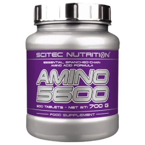 Scitec Nutrition Amino 5600 - 500 Tabletten - Aminosäuren mit Glutamin