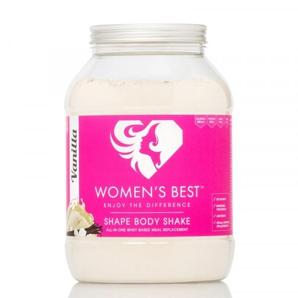 Womens Best Shape Body Shake 1000g - Protein - Eiweiss