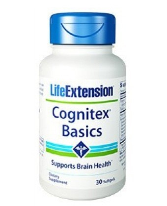 Life Extension Cognitex Basics - 30 Softgels