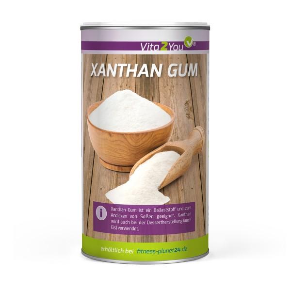 Vita2You Xanthan Gum 250g Dose - Ballaststoff - Bindemittel - Verdickungsmittel - Premium Qualität
