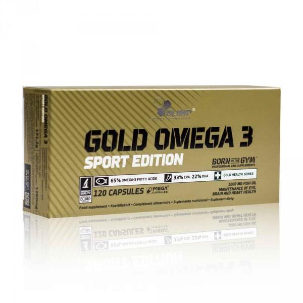 Olimp - Omega 3 Sport Edition 120 Kapseln - Fettsäuren - Fischöle
