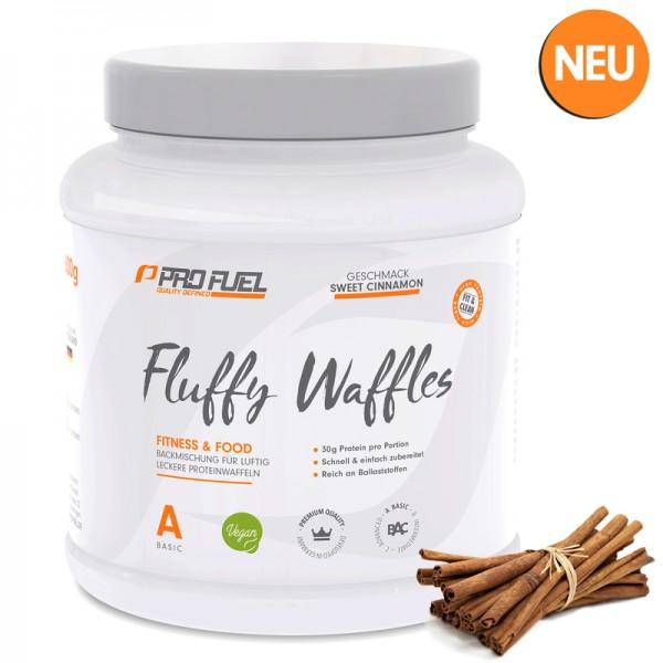 PROFUEL Fluffy Waffles (Proteinwaffeln) 600g - Eiweisswaffeln