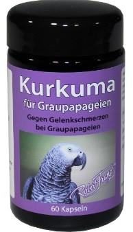 Robert Franz Kurkuma für Graupapageien - 60 Kapseln