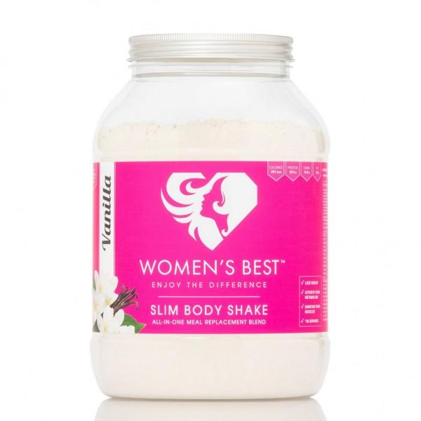 Womens Best Slim Body Shake 1200g - Protein - Eiweiss