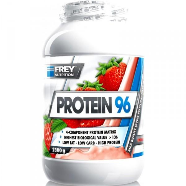 Frey Nutrition Protein 96 2300 g Dose Eiweiß 4 Komponenten
